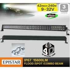 Светодиодная фара RBS-240W-4D (EPISTAR)