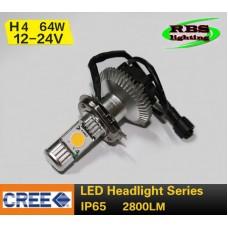 Светодиодная лампочка 3G-HL-2800lm H4 Hi/Lo (главный свет)