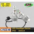 Светодиодная лампочка H4-LC-3600lm Hi/Lo (главный свет)