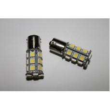 Светодиодная лампочка 1156/1157-24smd 5050 (лампы стоп-сигнала, задний ход)