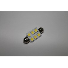 Світлодіодна лампочка C5W-6SMD-39mm (лампи освітлення салону)