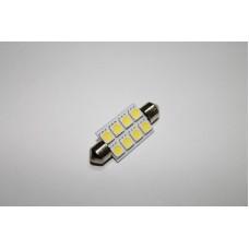 Светодиодная лампочка C5W-8SMD-41mm (лампы освещения салона)