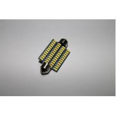 Светодиодная лампочка C5W-48SMD-41mm (лампы освещения салона)