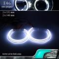Ангельские глазки LED COB BMW Е46 (фара без линзы)