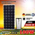 Монокристалічна сонячна панель Класу А 12V 100W