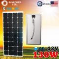 Монокристаллическая солнечная панель Класса А 12V 130W