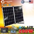 Складная солнечная панель 12V 200W