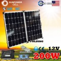 Складна сонячна панель 12V 200W